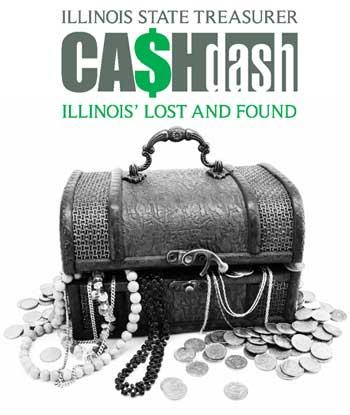 "Illinois State Treasurer ""CA$Hdash logo"""