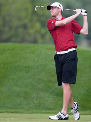 Golfer earns Academic All-District honors