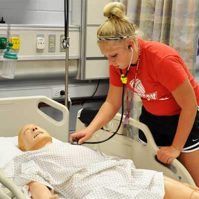 NIU health careers camper - 2010