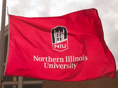 Photo of the NIU flag