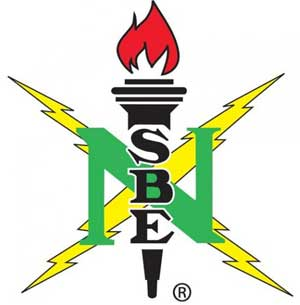 Logo of the National Society of Black Engineers