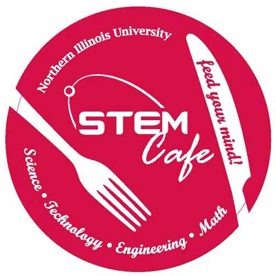 STEM Cafe logo: Feed your mind!