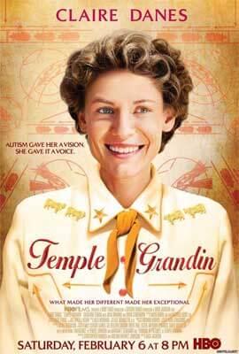 "Movie poster for ""Temple Grandin"""