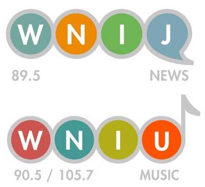WNIJ and WNIU logos