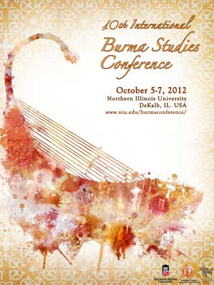 10th International Burma Studies Conference poster