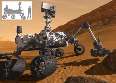 NASA's Curiosity Rover is set to land on the surface of Mars this August.