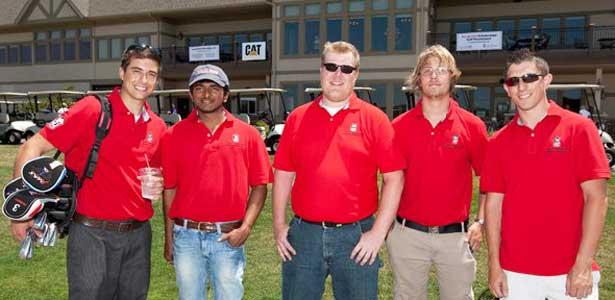 NIU College of Engineering & Engineering Technology golf outing volunteers