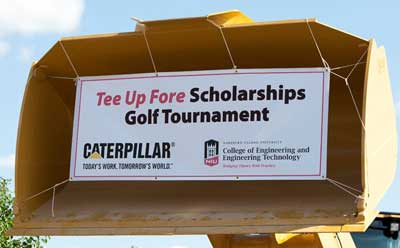 CEET, Caterpillar partner for golf, scholarships