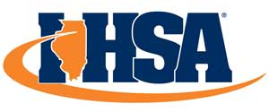 Logo of the IHSA: Illinois High School Association