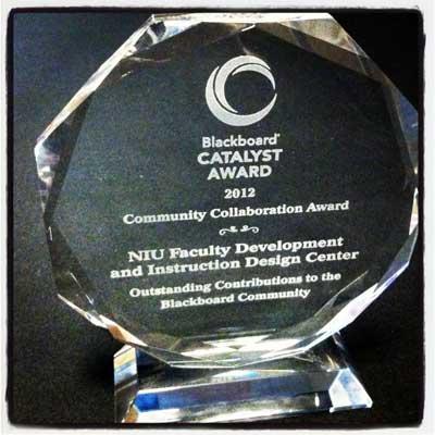 NIU's Blackboard Catalyst Award