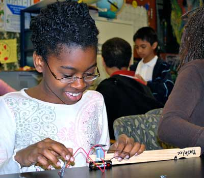 STEM Outreach, ILGCP and Design Squad Nation share the goal of motivating girls to pursue careers in science and engineering.