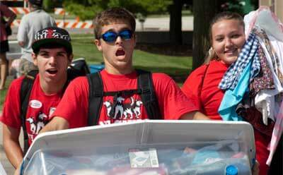 Move-In Day 2011