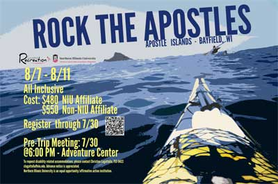 Poster for Apostles Islands trip