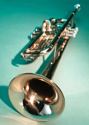 Photo of a trumpet