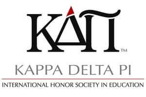 Logo of Kappa Delta Pi: International Honor Society in Education