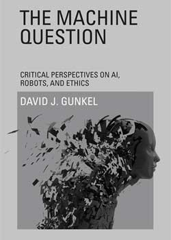 "Book cover of David Gunkel's ""The Machine Question"""