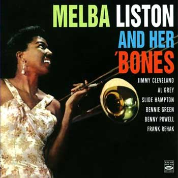 "Album cover of ""Melba Liston and Her 'Bones"""