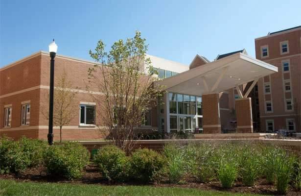 NIU's new residence hall