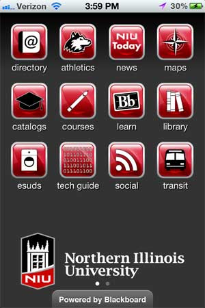 Image of the NIU Mobile app, version 2.5