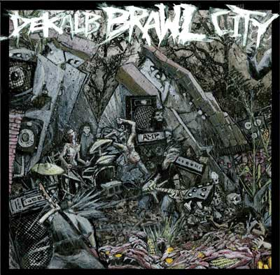 "CD cover artwork for ""DeKalb Brawl City"""