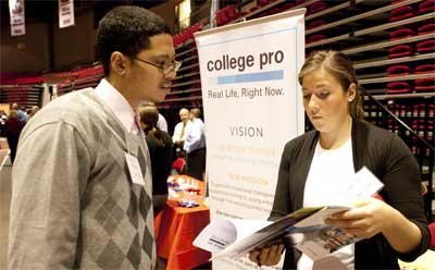 NIU Job Fair: February 2012