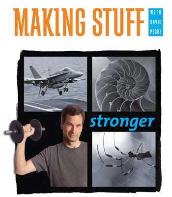 "This fall's STEM Cafés are based on PBS's ""Making Stuff"" series hosted by David Pogue."