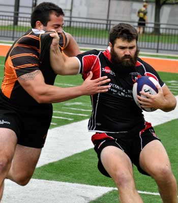 NIU's Jacob Goldsmith competes against Bowling Green.