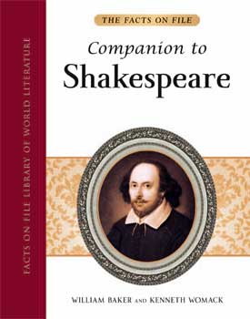 "Book cover of ""Companion to Shakespeare"""