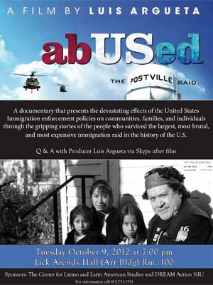 """abUSed"" film poster"