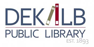 Logo of the DeKalb Public Library