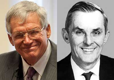 J. Dennis Hastert and William Lipinski