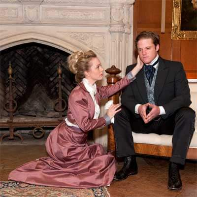 "NIU's School of Theatre and Dance will stage Oscar Wilde's ""An Ideal Husband."""
