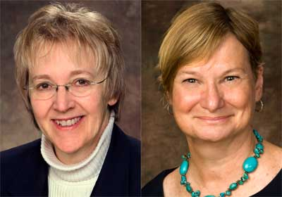 Anne Kaplan and Anne Birberick