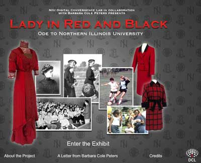 Lady in Red and Black homepage