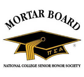 Logo of Mortar Board National College Senior Honor Society