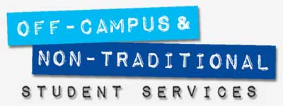 Logo of Off-Campus & Non-Traditional Student Services