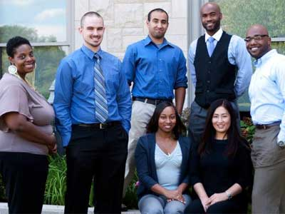 Staff of NIU Off-Campus & Non-Traditional Student Services.