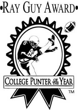 Logo of the Ray Guy Award: College Punter of the Year