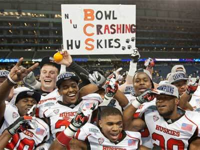 Bowl Crashing Huskies!