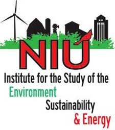 Logo of the NIU Institute for the Study of the Environment, Sustainability & Energy