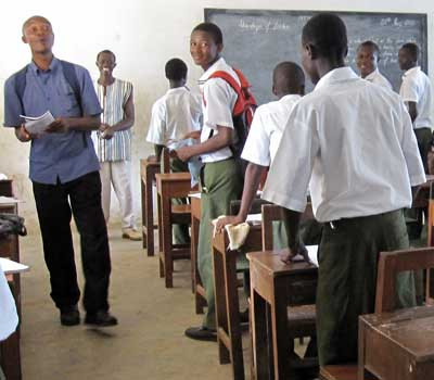 Sociology students have attained internships and study abroad experiences in places like this school in Sierra Leone.