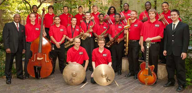 NIU Jazz Ensemble: 2012-13