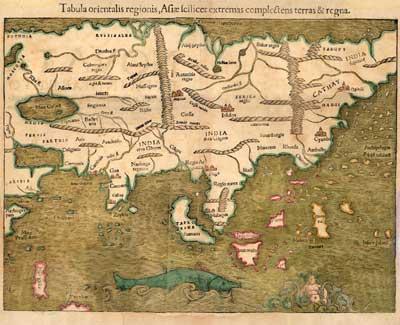 Map of ancient Burma