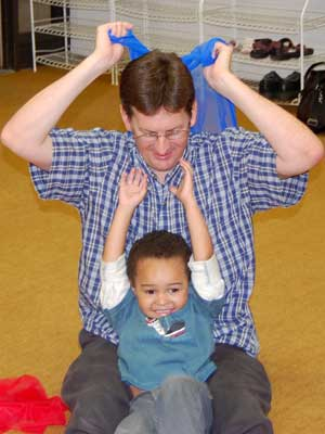 Prelude Class gives children ages 1 to 3 an introduction to musical concepts with a wide variety of songs, dances, rhythm and music games and nature sounds.