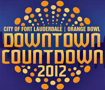 Logo: City of Fort Lauderdale | Orange Bowl Downtown Countdown