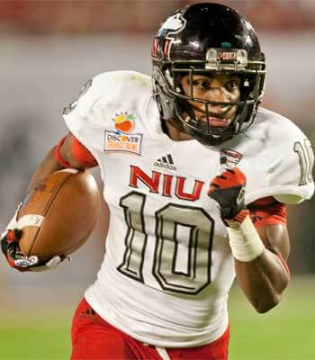 Tommylee Lewis is among NIU's leading wide receivers.