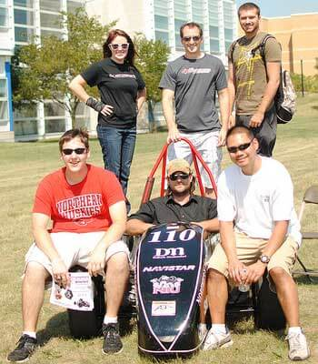 NIU Motorsports Formula team