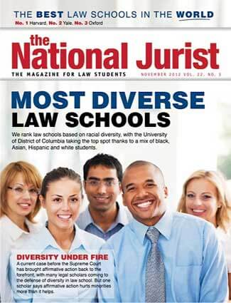 Cover of November 2012 National Jurist