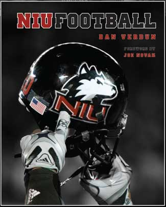 "Cover of ""NIU Football"" by Dan Verdun"