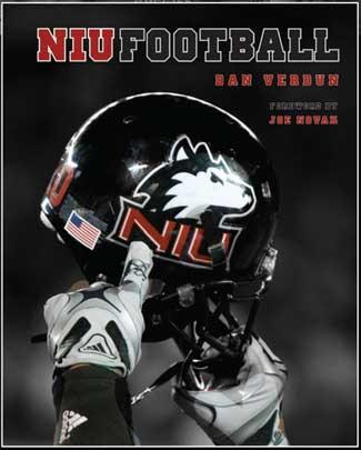 """Cover of """"NIU Football"""" by Dan Verdun"""